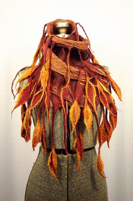 mojo scarf by Wool & Water