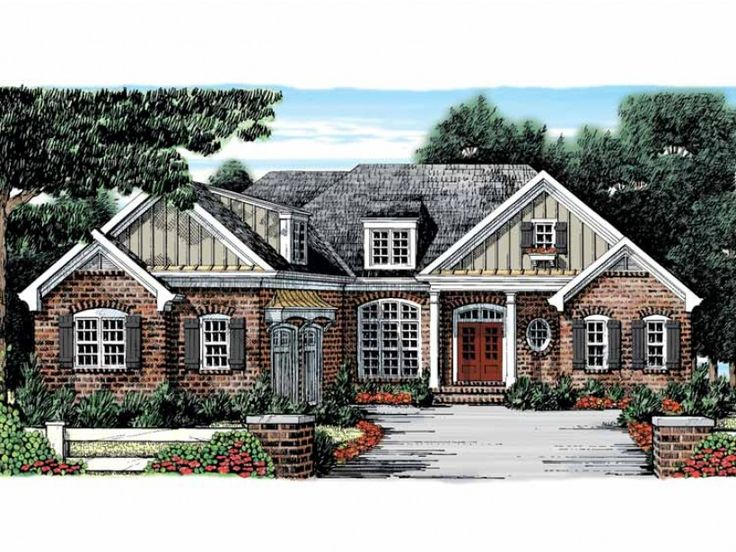 93 best french country house plans images on pinterest | country