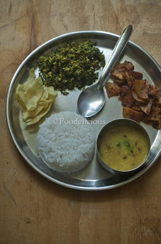 Karnataka Thali