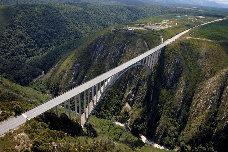 Bloukrans Bridge (world's Highest Bridge Bungee), Plettenberg Bay, South Africa