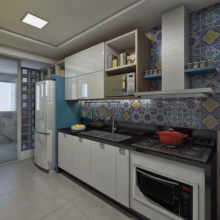 175 melhores imagens de cozinhas kitchens cocina - Ceramica para cocinas ...