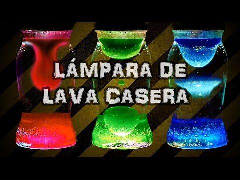 Cómo hacer una Lámpara de Lava