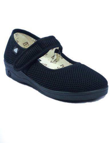 Mirak Celia Ruiz 204 Leinen Dolly Schuhe / Damen Schuhe (40 EUR) (Schwarz) - http://on-line-kaufen.de/mirak/40-eu-mirak-damen-celia-ruiz-204-dolly-schuhe
