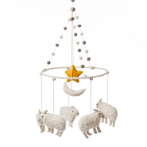 Adairs Kids Sheep Mobile - Home & Gifts Gifts & Toys - Adairs Kids online