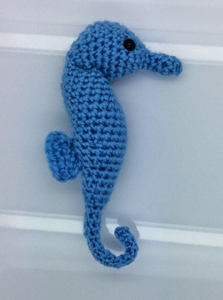 Free Crochet Seahorse Pattern