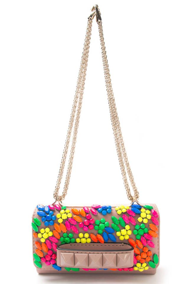 Valentino Beaded Clutch - Shop the best and brightest summer bags: http://