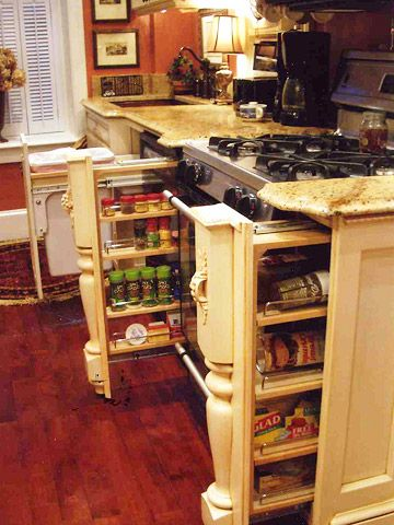 Before after adding character to a bland kitchen for Space saver kitchen ideas