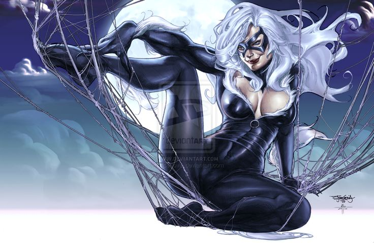 Blackcat Colored by sjsegovia.deviantart.com | Comic Girl ...