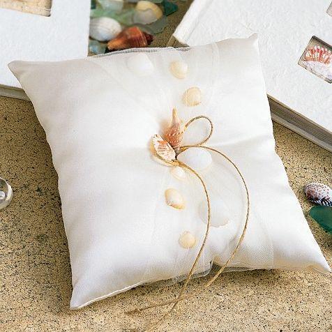 Sea Shells Ring Pillow