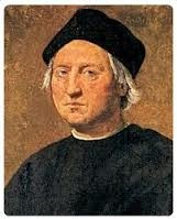 Cristoforo Colombo  was born in Genova in 1451: a sailor man, explorer, he discovered the New World (America) in  October, 12th 1492