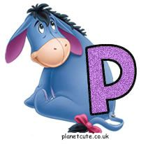 Planet Cute - Alphabet - Eeyore - Image