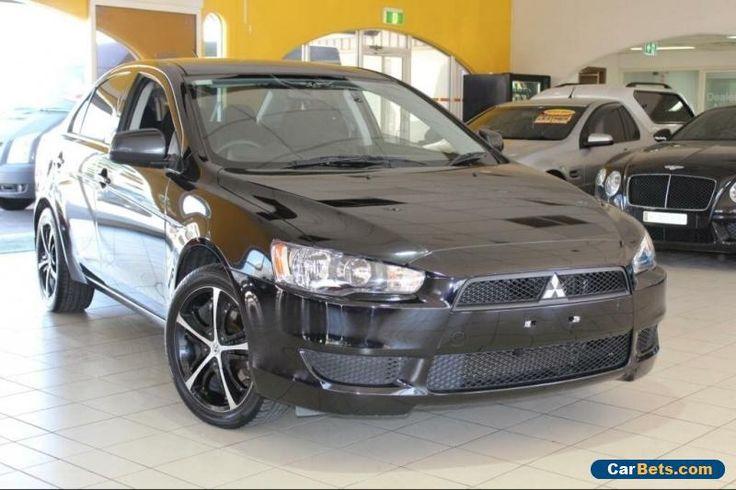 2012 Mitsubishi Lancer ES Black Manual M Sedan #mitsubishi #lancer #forsale #australia