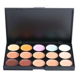15 Colors Matte Concealer Camouflage Makeup Palette