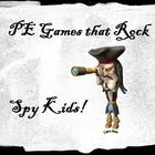 """It is a fast paced, high energy and extremely fun game for students of all ages. Students play the roles of """"Spykids"""" and """"Thumb Thumbs"""" to save and capture players throughout the game. They hide behind barriers and dodge, throw, catch, chase, and run throughout the game. The kids will leave the gym with smiles on their faces and will be dripping sweat from all of their movement."""