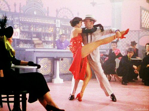 "nitratediva: "" Cyd Charisse and Fred Astaire in The Band Wagon (1953). """