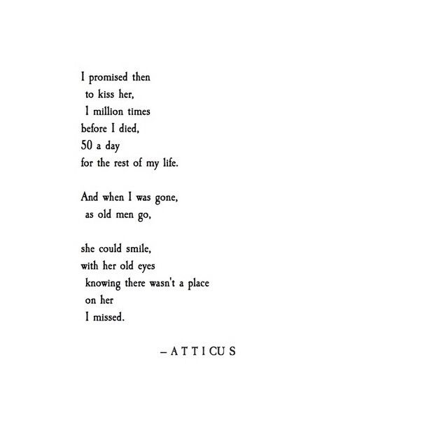 """""""No Place I Missed"""" by Atticus"""