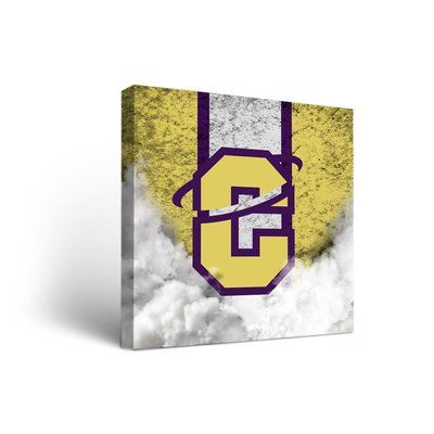 """Victory Tailgate NCAA Vintage Version Framed Graphic Art on Wrapped Canvas Size: 24"""" H x 24"""" W x 1.5"""" D, NCAA Team: Carroll College Saints"""