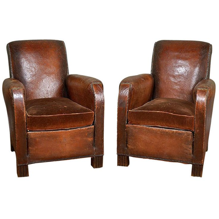 Antique French Leather and Velvet Club Chairs - 32 Best Interiors : Antique Club Chairs Images On Pinterest