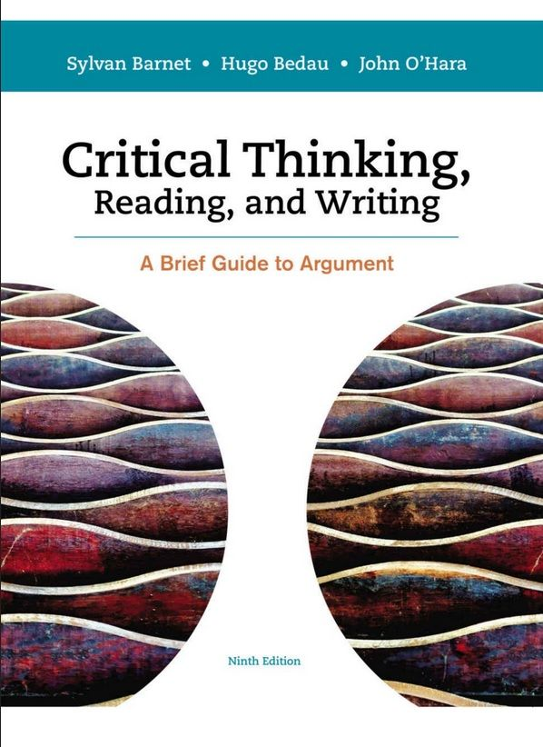 Critical Thinking Reading And Writing A Brief Guide To