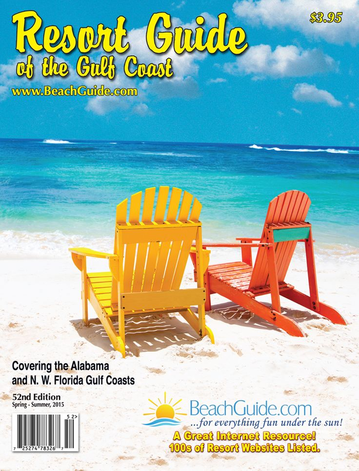 To order a copy of the latest edition of BeachGuide.com's The Resort Guide of the Gulf Coast, online or by mail, just click on www.beachguide.com/RequestGuide.aspx and check out securely via Pay Pal or follow our ordering instructions. Cost of the guide is $3.