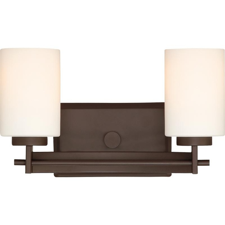quoizel two light bronze vanity lighting wwwctlightingcom - Quoizel Bathroom Lighting