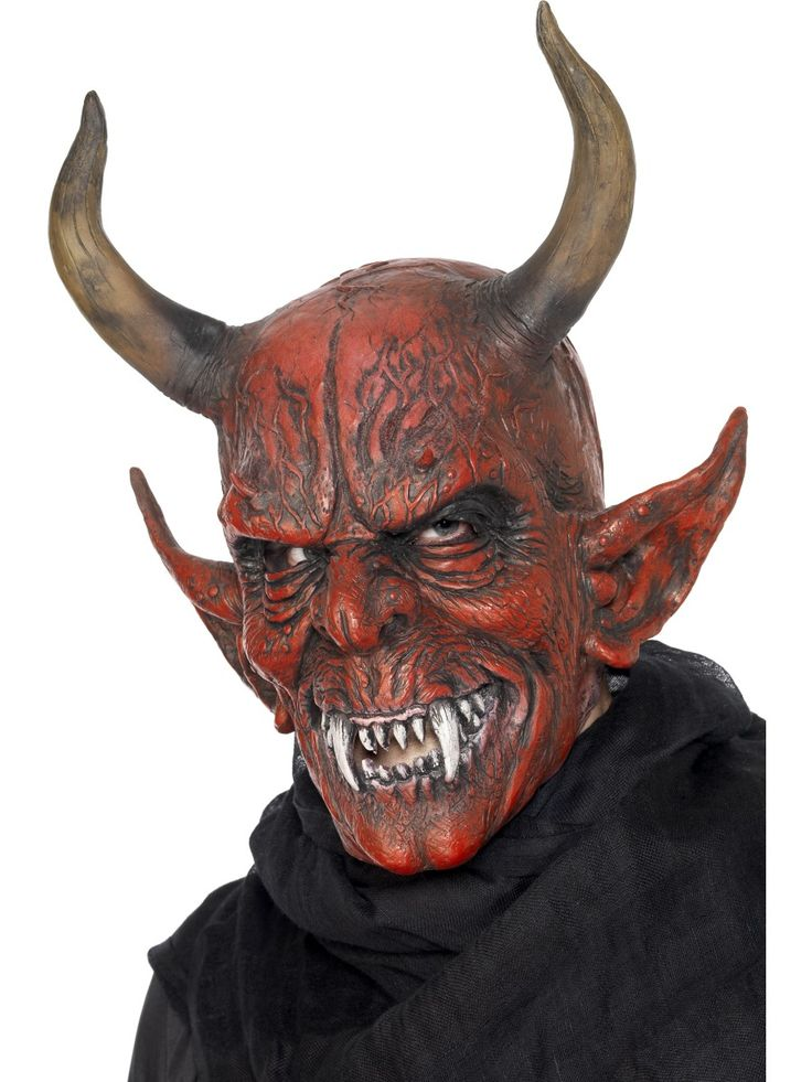 Paholaisnaamari. Näyttävä kokomaski.