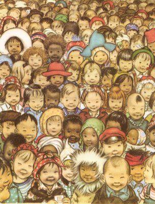 Vintage Kids' Books My Kid Loves: Prayer for a Child (1944) - written by Rachel Fields, Illus. by Elizabeth Orton Jones.