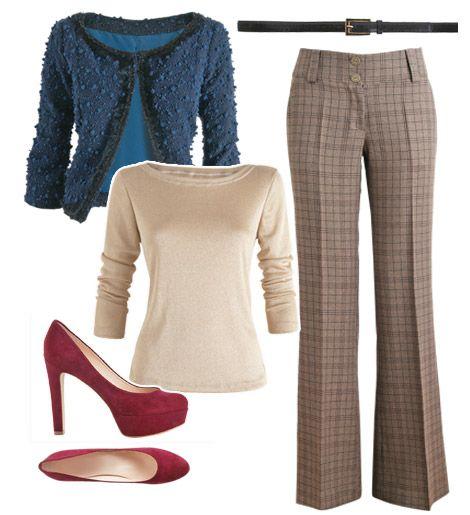 Complete Look- pear shape - work wardrobe - Manequim - Editora Abril