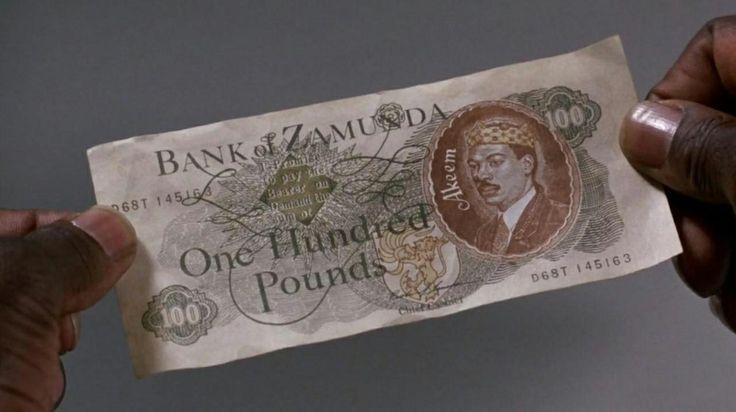 Eddie Murphy As 'Prince Akeem', Zamunda Currency Prop, In