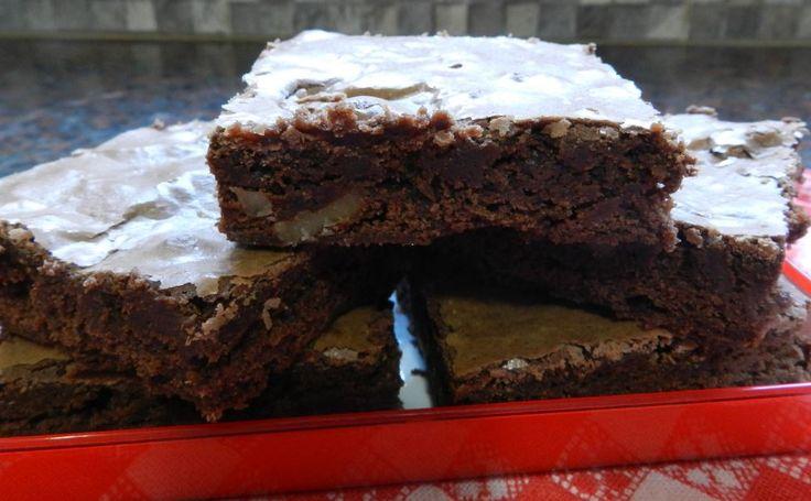 Brownie receta argentina