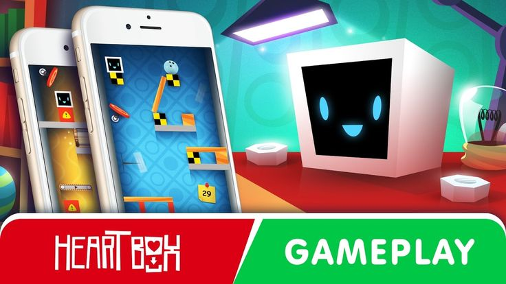 Heart Box gameplay trailer (android, ios, windows phone) #heartboxmobile