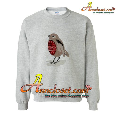 Sequin Robin Christmas Sweatshirt from anncloset.com This sweatshirt is Made To Order, one by one printed so we can control the quality.