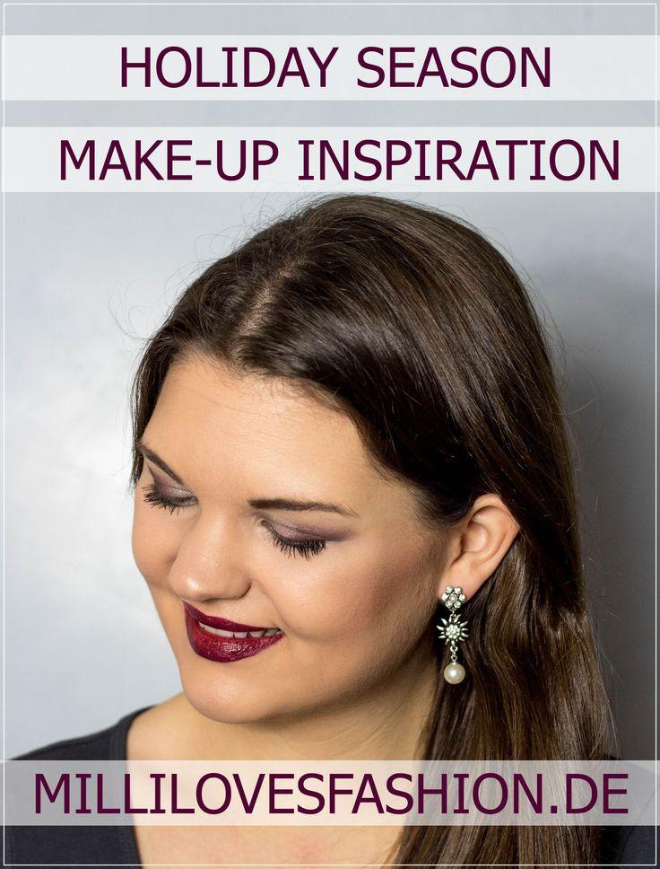 Make-Up I Festliches Make-Up für die Weihnachtsfeier