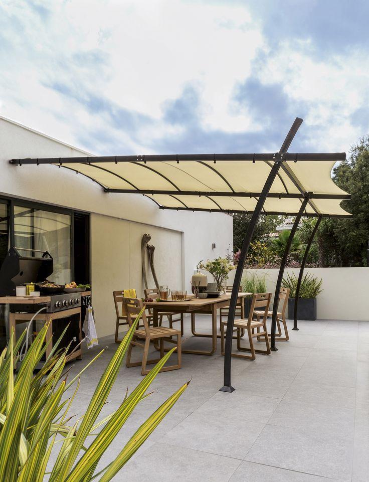 aki bricolaje jardiner a y decoraci n p rgola jard n. Black Bedroom Furniture Sets. Home Design Ideas