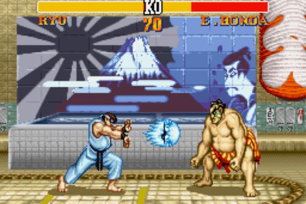 Street fighter 2 is a retro game that most people have played .