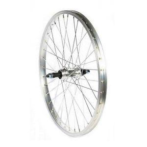 Roue arrière vélo enfant 20 pouces à roue libre