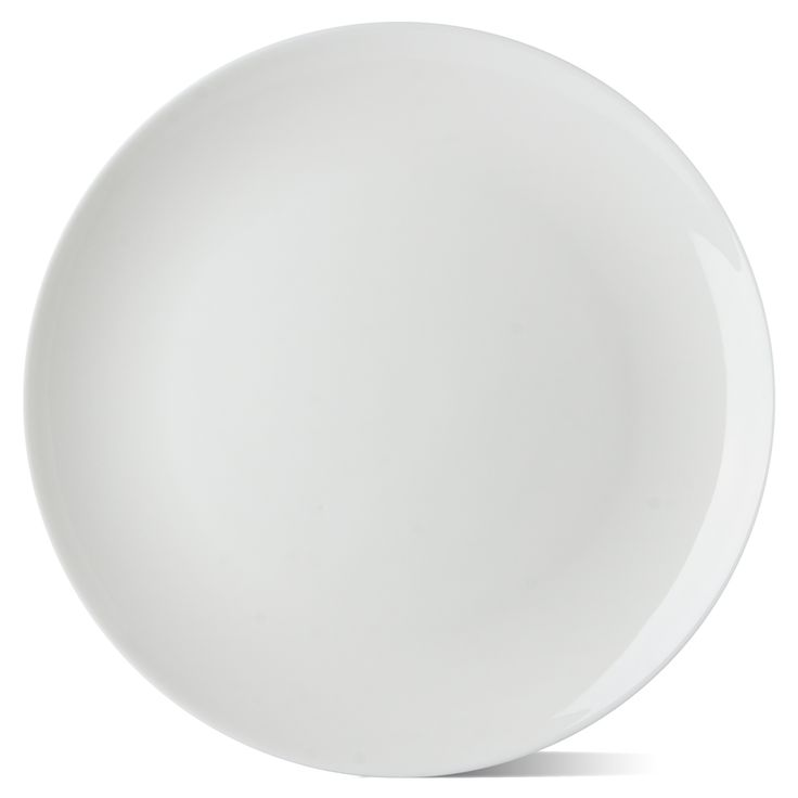 Nel Lusso - White Coupe Dinner Plate | Peter's of Kensington