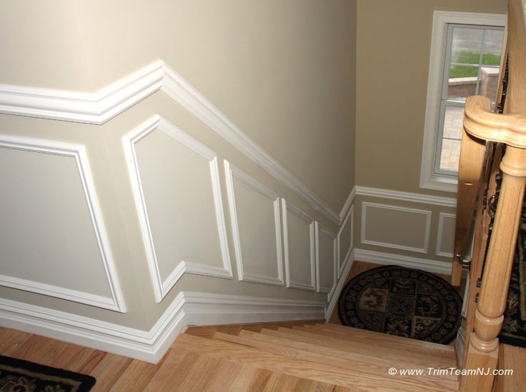 Image Result For Largest Box For Wainscoting On Stairs