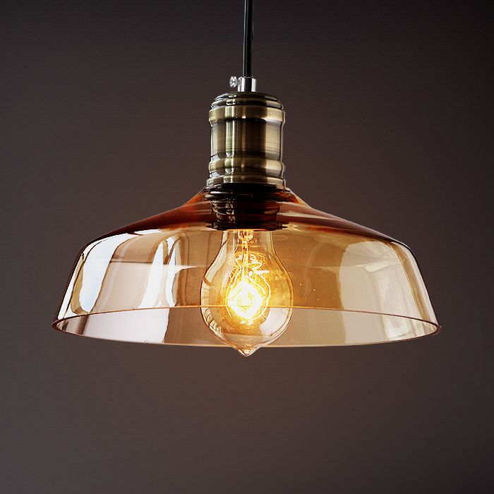 Nordic Glass Edison Pendant Light Fixtures Loft Style Retro Vintage Lamp Industrial Lighting Hanging Lights Lamparas