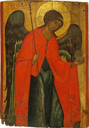 Archangel Michael. From the Church of Paraskeva Pyatnytsya in the village of Dalyova, Land of Lemkivshchyna, end of the 14th century.