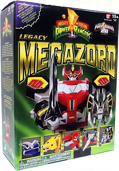 Power Rangers Mighty Morphin Legacy Series Legacy Dino Megazord Action Figure