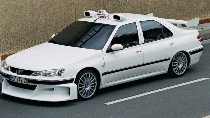 La 406 Peugeot de Taxi