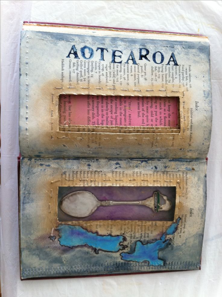 altered books, compartment