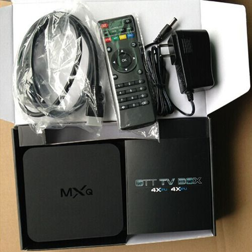 MXQ Android TV Box. Starting at $1