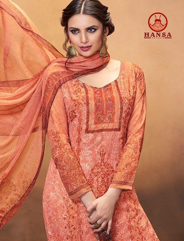 52049e652b Hansa Husna Ara Vol-11 Designer Collection (8 Pc se) | Designer Suit ...