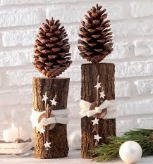 weihnachtsdeko mit naturmaterialien