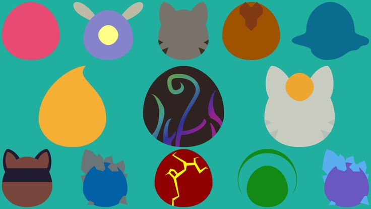 I made a minimalist slime rancher wallpaper, tell me your thoughts : slimerancher