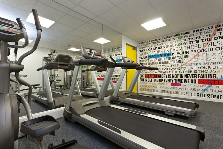 On-site gym at College Green student accommodation, Bristol http://www.collegiate-ac.com/student-accommodation/bristol/college-green