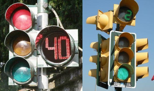 Arrivano i nuovi semafori con conto alla rovescia: ecco cosa sapere per non avere multe #semafori #multe