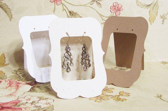как можно красиво упаковать украшения (сережки, подвески) для подарка или продажи